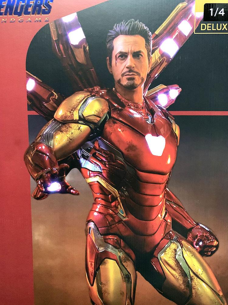 Iron Man Mark LXXXV Deluxe Version 1/4 Marvel Avengers: Endgame Legacy Replica Statue 84cm Iron Studio
