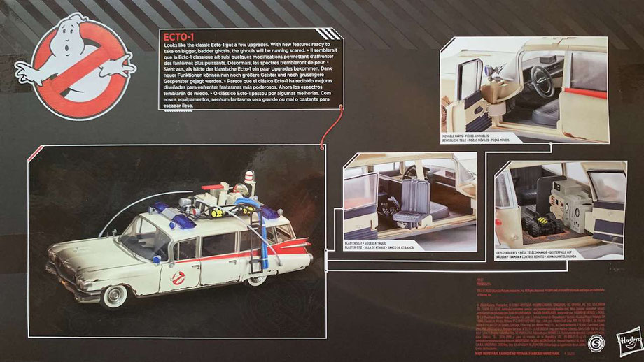 Ecto-1 1/18 Ghostbusters Plasma Series Fahrzeug Hasbro