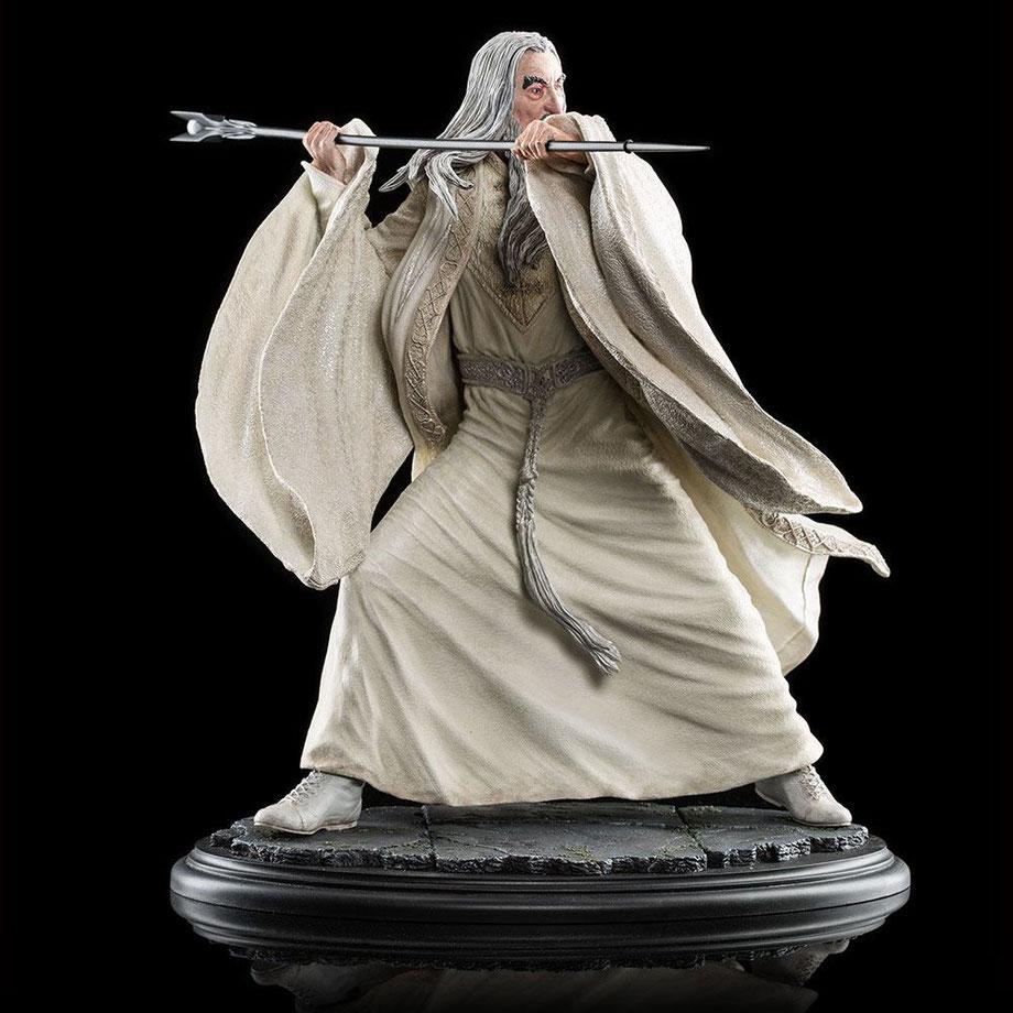Saruman the White 1/6 35cm Der Hobbit - Die Schlacht der 5 Heere Statue Weta