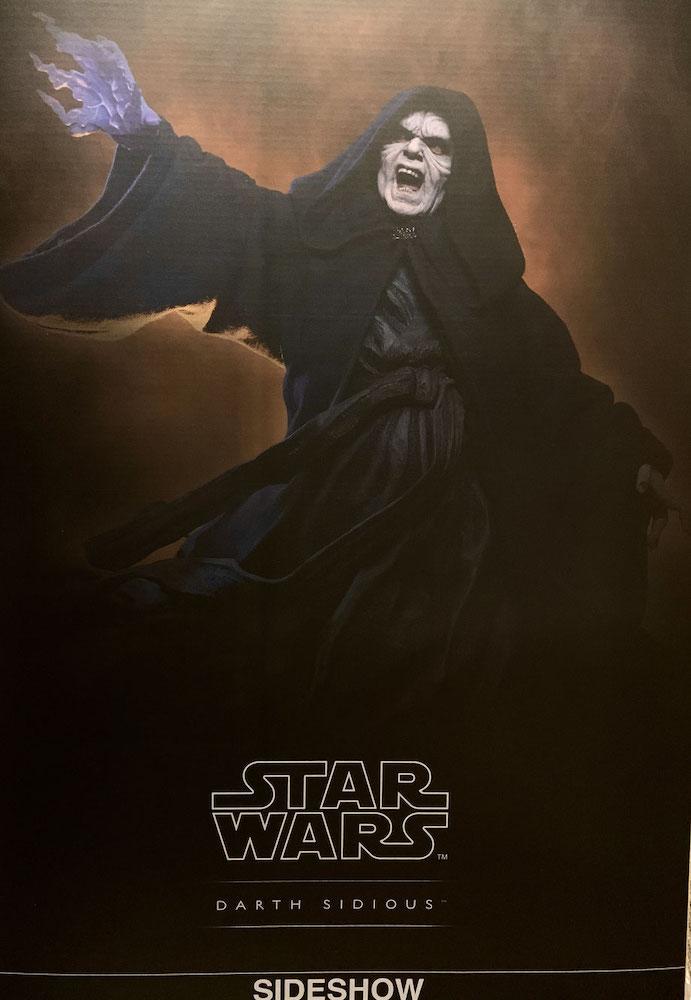 Darth Sidious Mythos Star Wars (Emperor Palpatin) Statue 53cm Sideshow