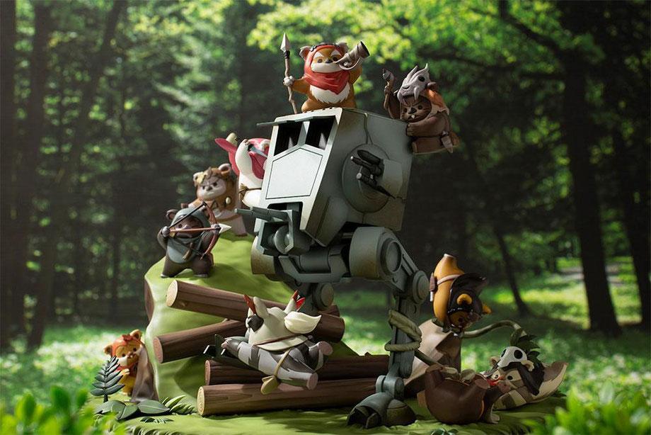 Battle of Endor The Little Rebels Star Wars ARTFX Statue / Diorama 19cm Kotobukiya