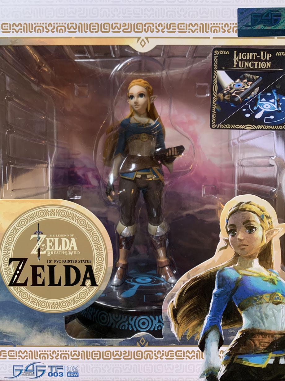 Zelda Collector's Edition The Legend of Zelda Breath of the Wild Game Statue 25cm Led beleuchtet First 4 Figures