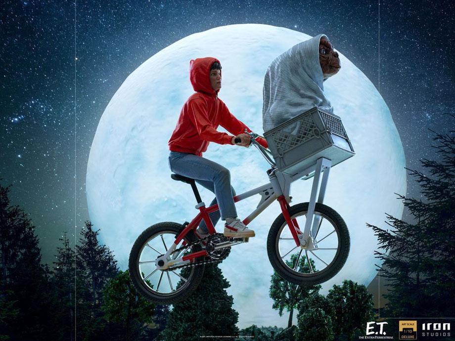 E.T. & Elliot 1/10 E.T. Der Außerirdische Deluxe Art Scale Statue 27cm Iron Studios