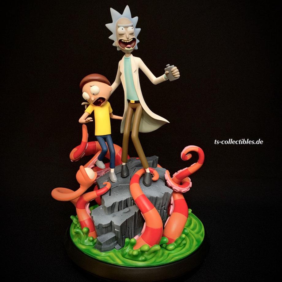 Rick & Morty Tv Series Statue Polystone 30cm Mondo