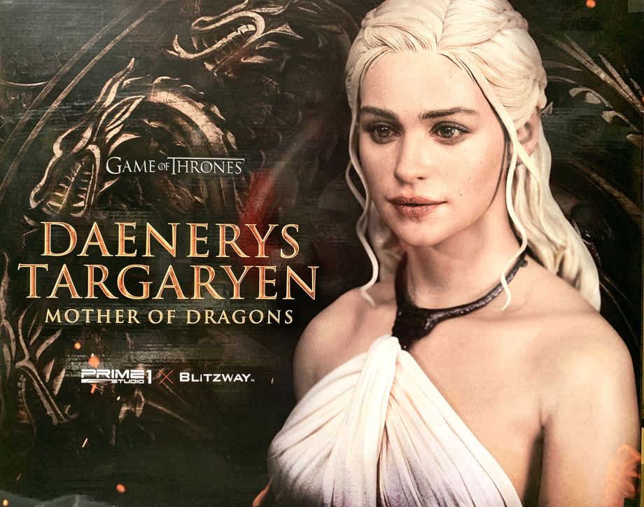 Daenerys Targaryen - Mother of Dragons 1/4 Game of Thrones 60cm Statue Prime 1 / Blitzway