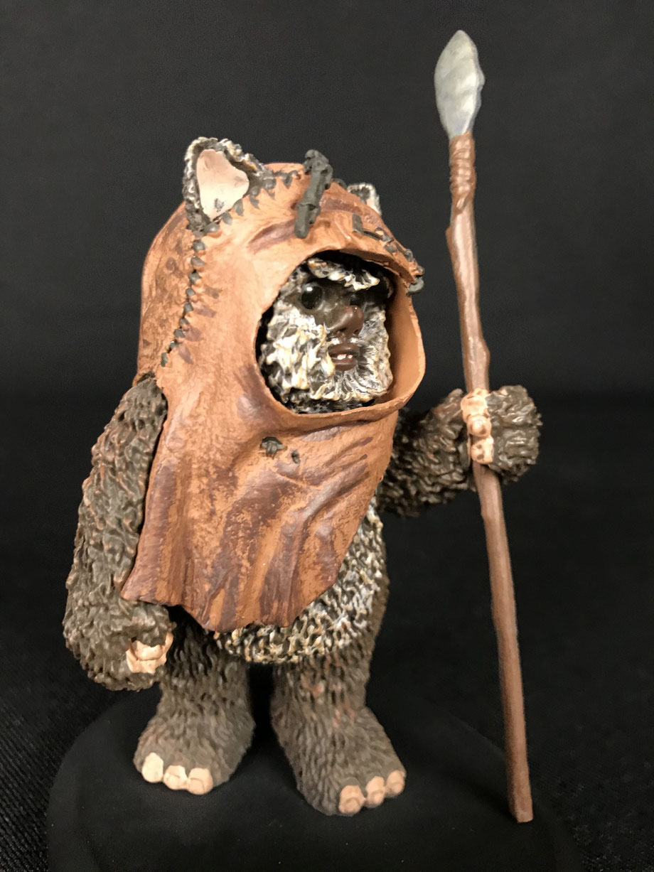 Wicket Endor Star Wars Episode VI Elite Collection Statue 9cm Attakus