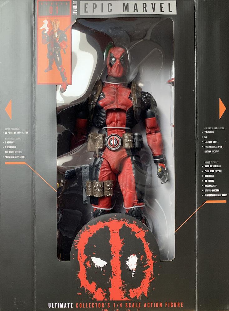 Deadpool Ultimate 1/4 Marvel Comics Actionfigur 45cm Neca