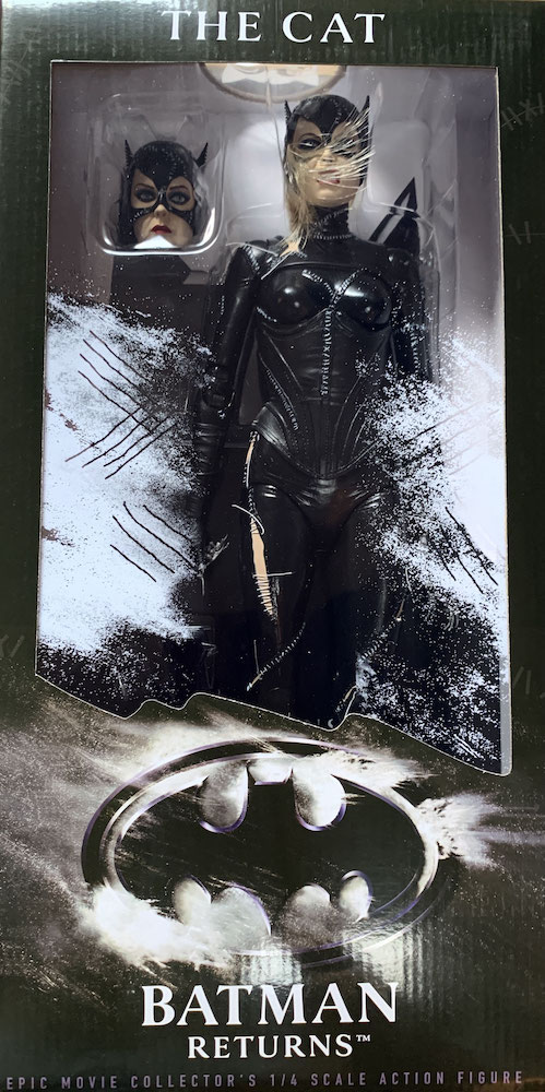 Catwoman 1/4 Michelle Pfeiffer Batmans Rückkehr DC Actionfigur 45cm Neca