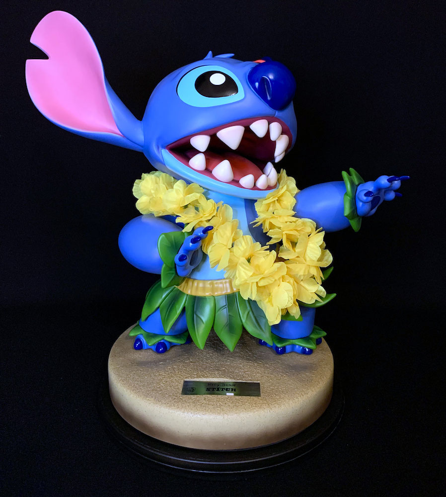 Hula Stitch Disney Master Craft Polystone Statue 38cm Beast Kingdom Toys