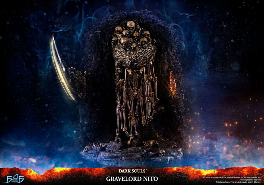 Gravelord Nito Dark Souls Game Statue 68cm First 4 Figures