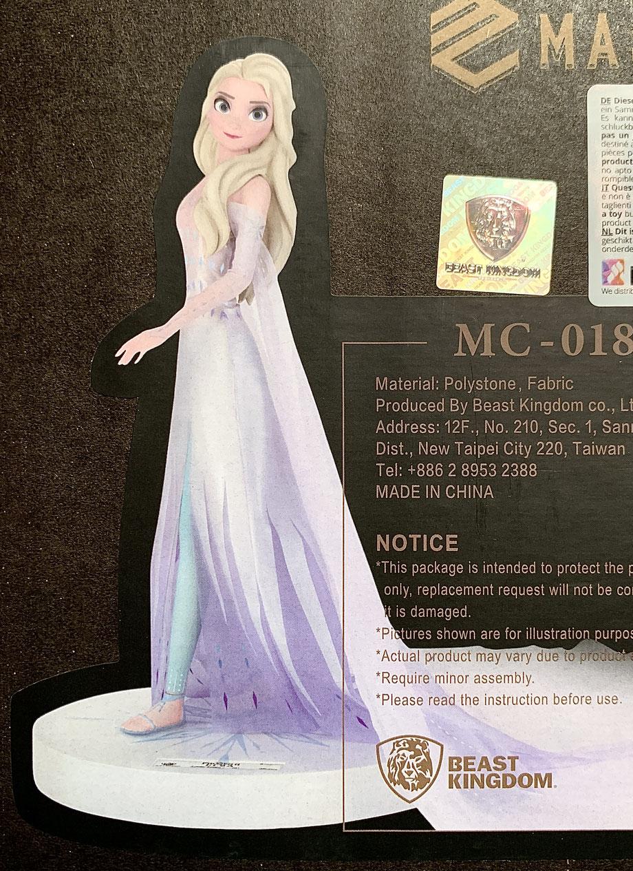 Elsa 1/4 Die Eiskönigin 2 Master Craft Statue Polystone 41cm Disney Beast Kingdom Toys
