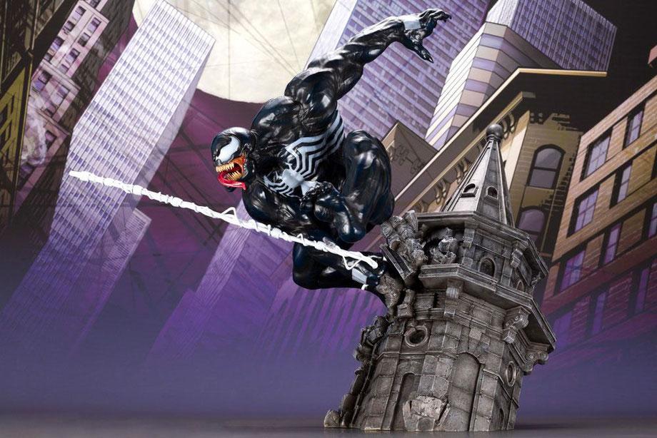 Venom 1/6 Marvel Universe ARTFX 42cm Statue Kotobukiya ktomk277