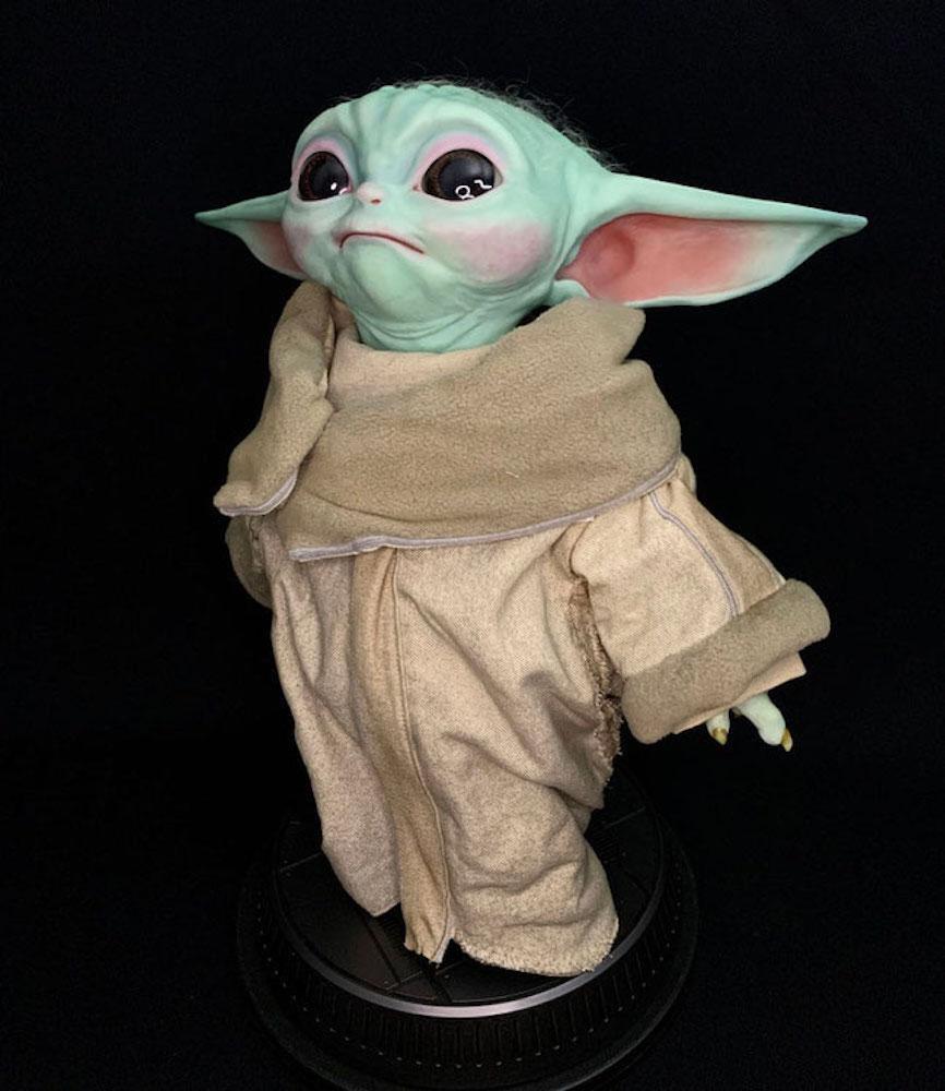 The Child 1/1 Life-Size The Mandalorian Baby Yoda Star Wars Tv Series 42cm Statue Sideshow