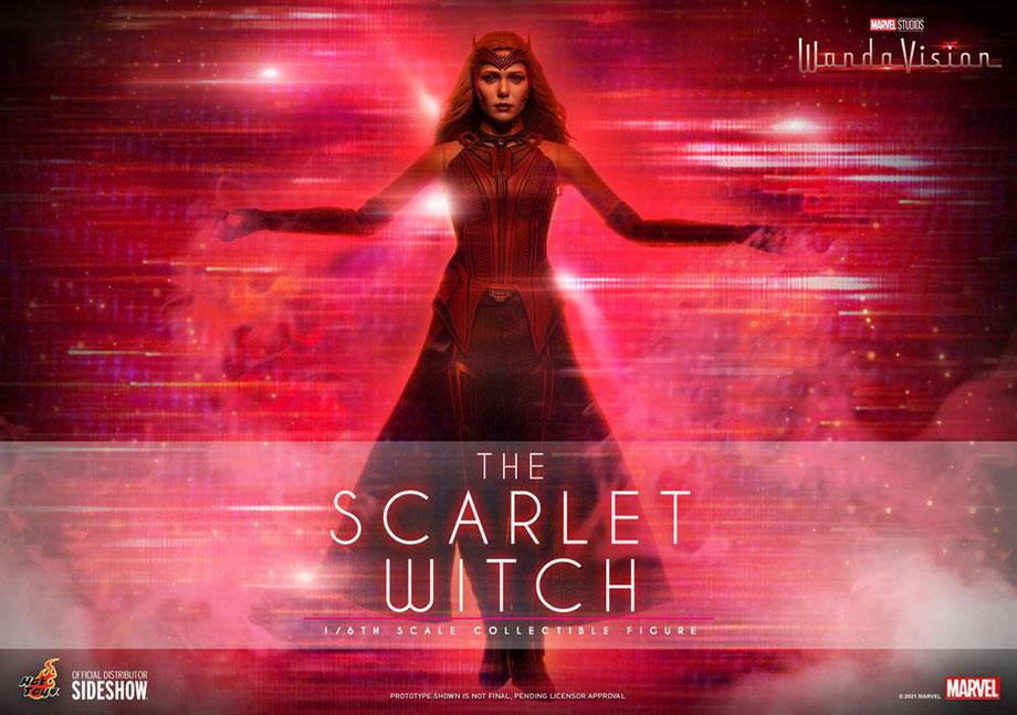 The Scarlet Witch 1/6 WandaVision Marvel Actionfigur 28cm Hot Toys