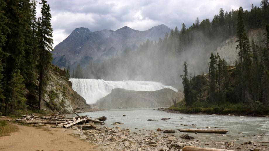 Wapta Falls dans le Yoho National Park (Colombie-Britannique - Canada)