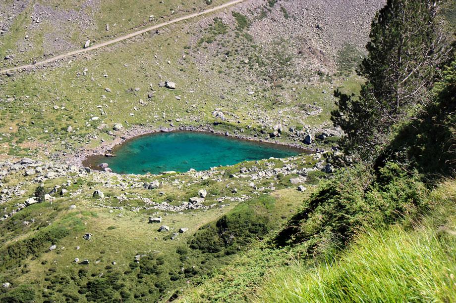 Lac Noir, Vallée d'Ilhéou, Cauterets, Parc National des Pyrénées