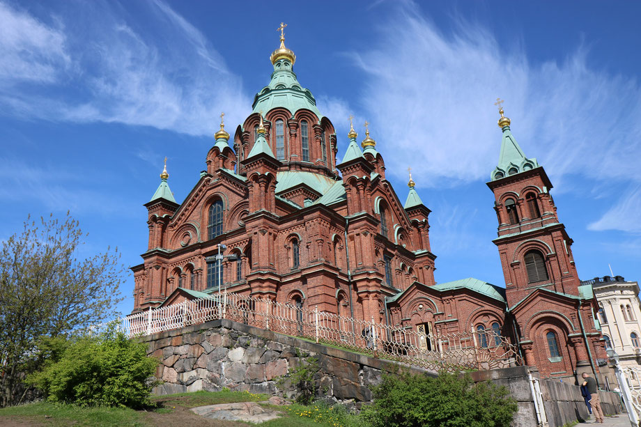 cathedrale orthodoxe d'helsinki