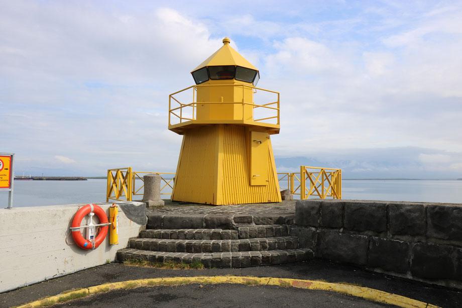 Port de Reykjavik en Islande