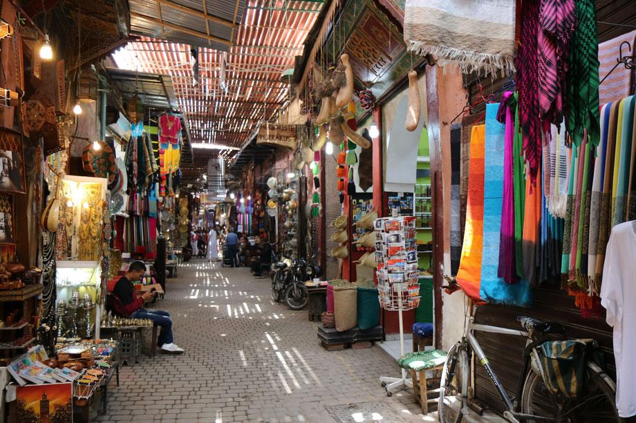 Les souks, Marrakech