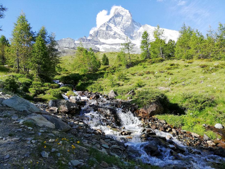 Wanderung auf dem Matterhorntrail (Foto: David Keller)