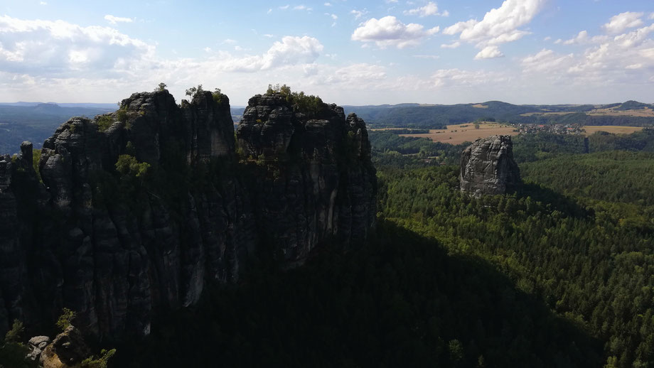 Wanderung im Nationalpark der Sächsischen Schweiz (Foto: David Keller)