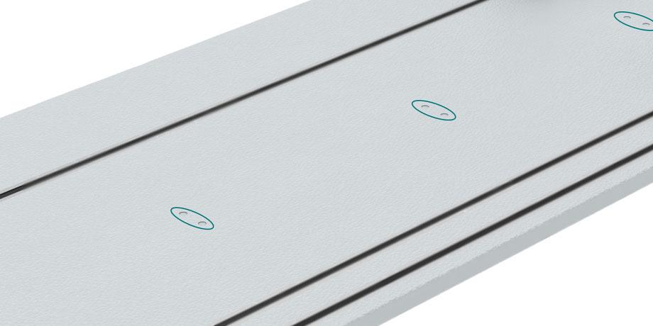 OnTruss EventBoard | Markierungssystem zum schnellen Positionieren der TrussClips (marking system for fast positioning of TrussClips)
