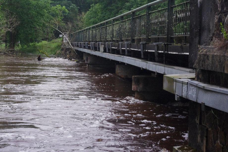 Pont du Passage à Belin-Béliet. Crédit photo: PNR des Landes de Gascogne