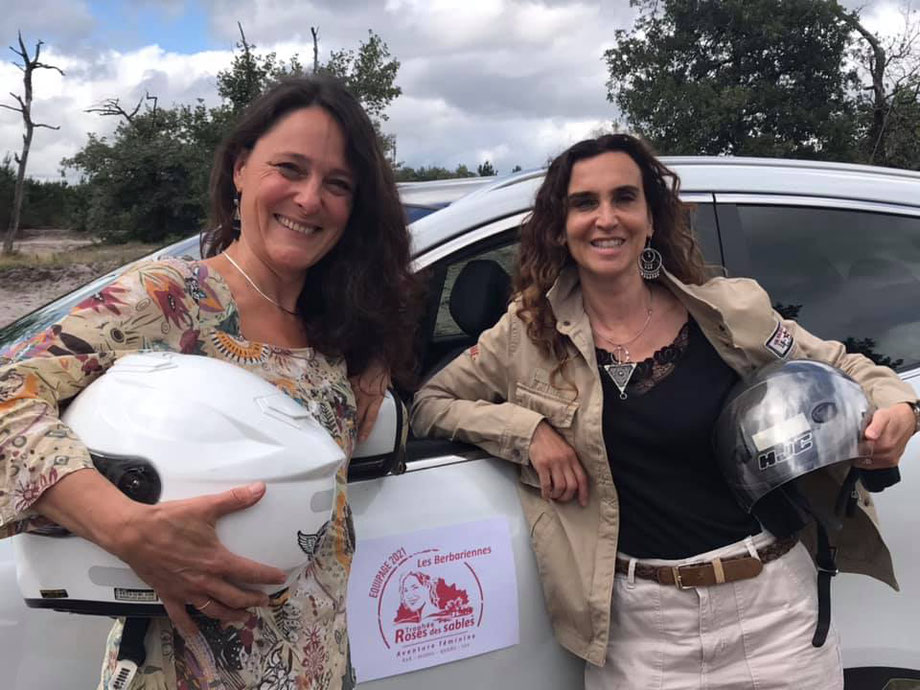 Bérangère Papion et Sophie Naud participeront à l'édition 2021 du trophée Roses des Sables.