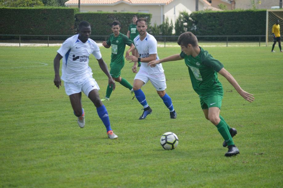 Le FCBB affrontera Audenge dans le cadre du second tour de coupe de France.