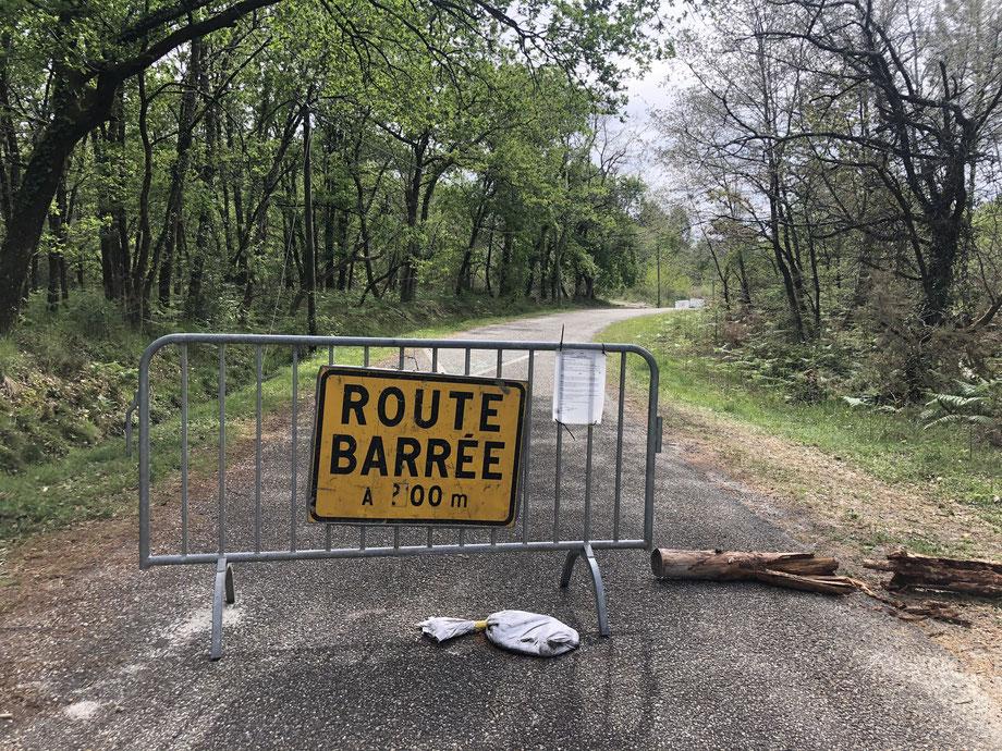 L'accès au Graoux devrait de nouveau être ouvert dans les jours à venir. Photo Corentin Barsacq