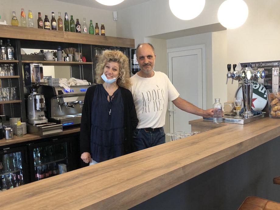 Bernadette et José Sampaio sont les nouveaux gérants du bar-tabac.