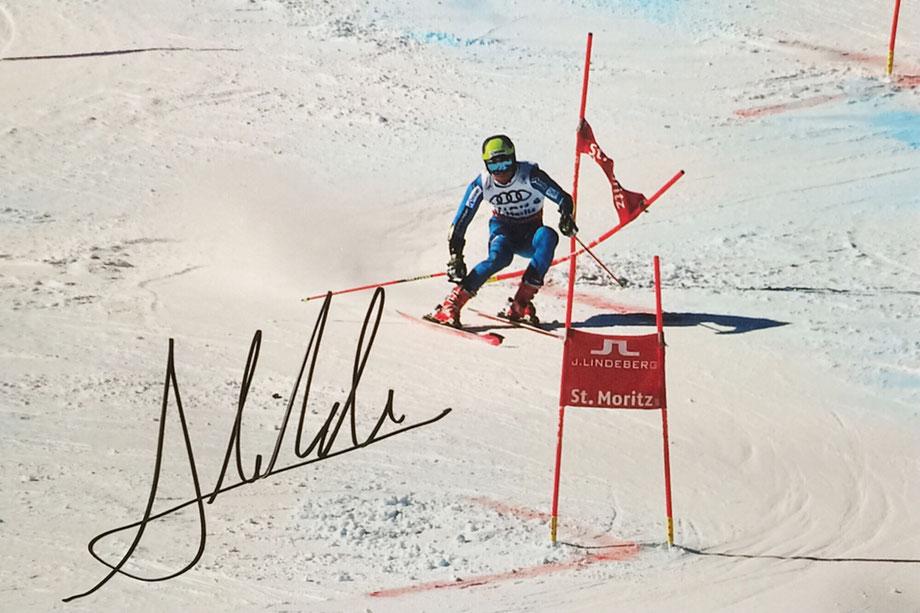 13.11.2017 Aleksander Aamodt Kilde Norwegian Skier 5 Autographs