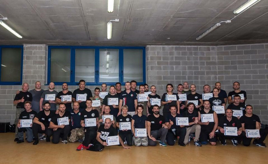 Work with FDKM, become krav maga instructor