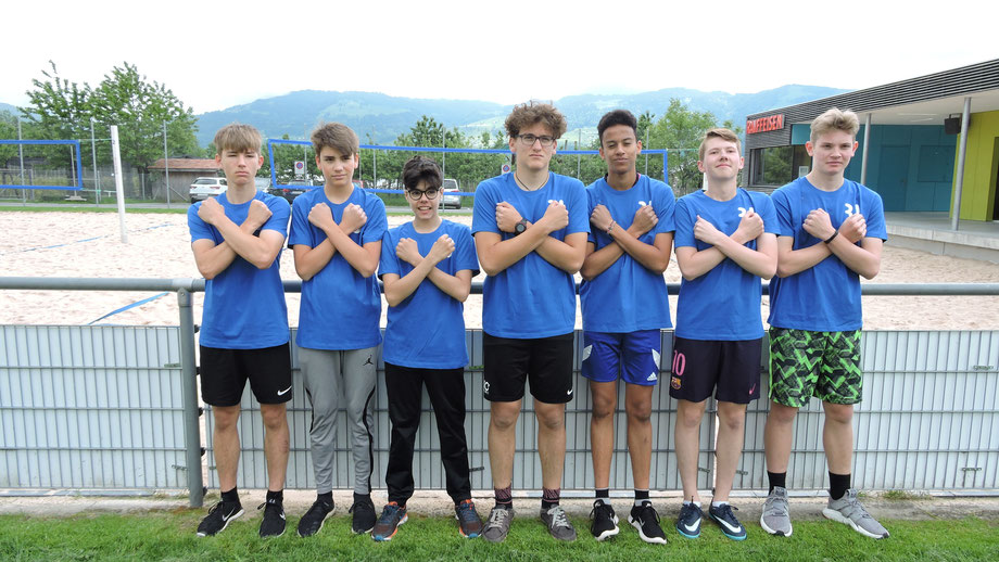 Our selected boys... Damir, Leandro, Leo, Albion, Claudio, Livio, Fynn and Nemanja (missing on the foto)