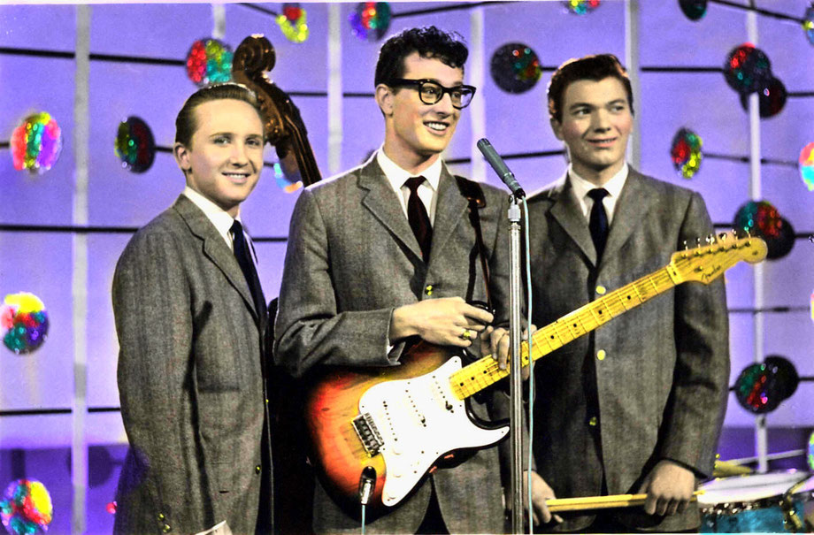 Buddy Holly And The Crickets at the BBC, March 1958