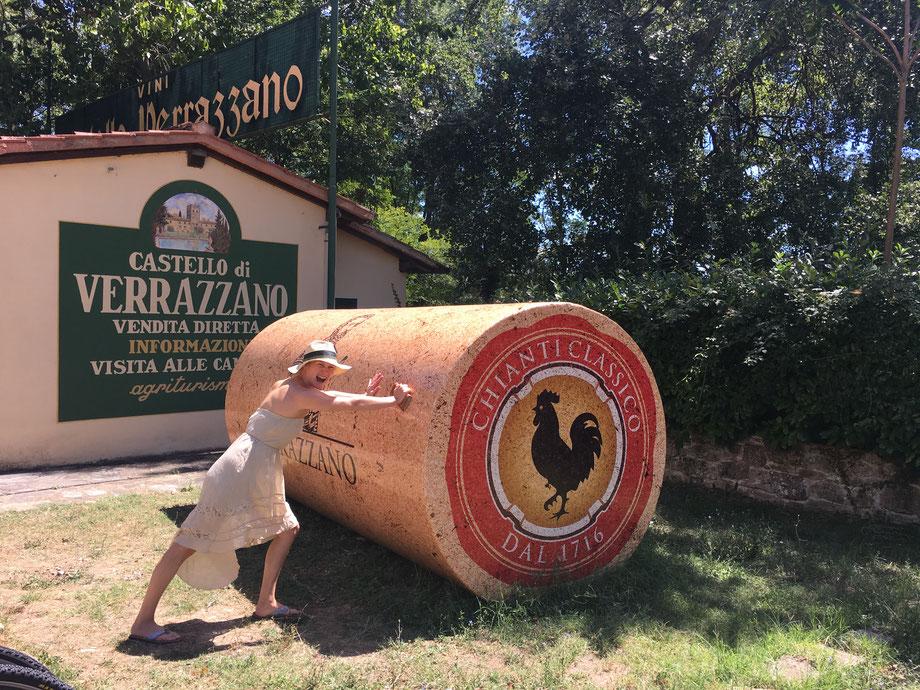 Weinregion Toskana Chianti