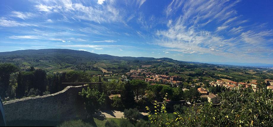San Gimingnano Toskana Italien