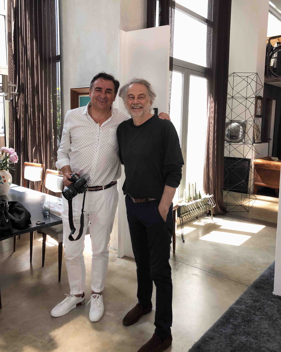 (links) Andreas Evangelisti - Mr.llvintage (rechts) Piero Gemelli / pierogemellistudio Milano/Italy