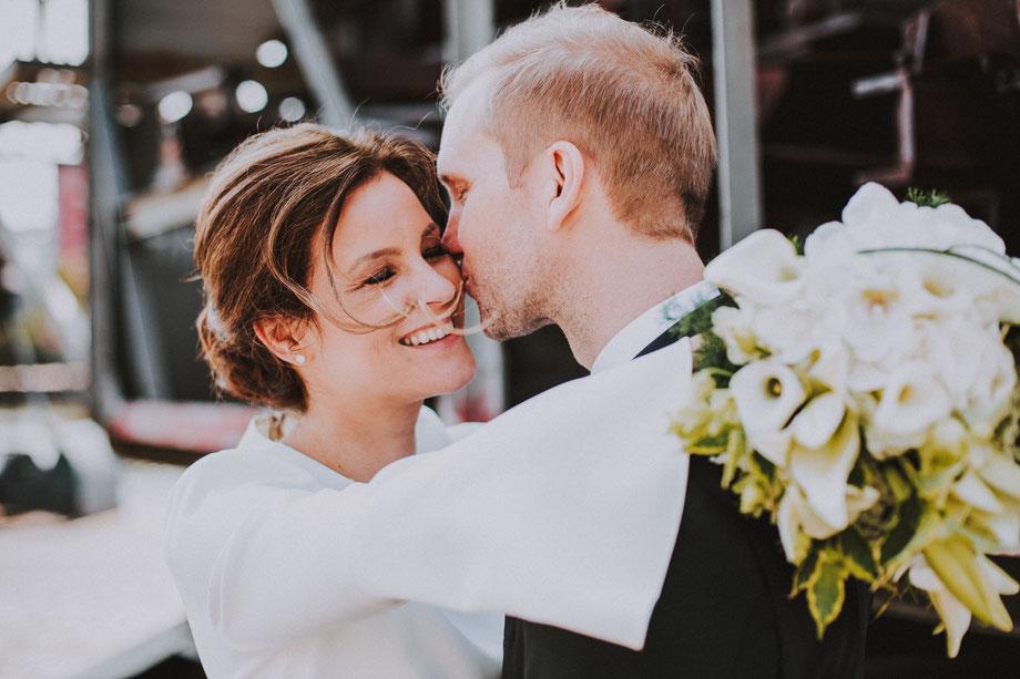 Emotionale Hochzeitsfotografie in Frankfurt am Main