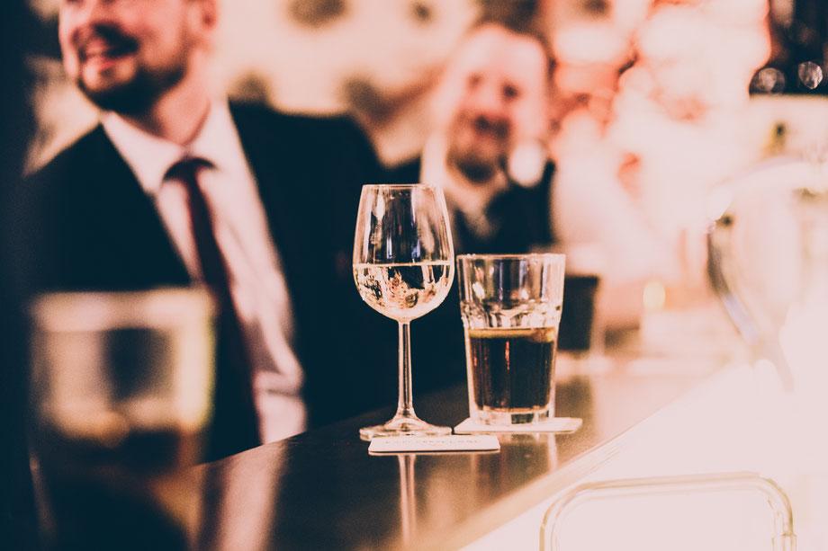 Stimmungsvolle Hochzeitsfotografie auf den Waldorfer Höfen