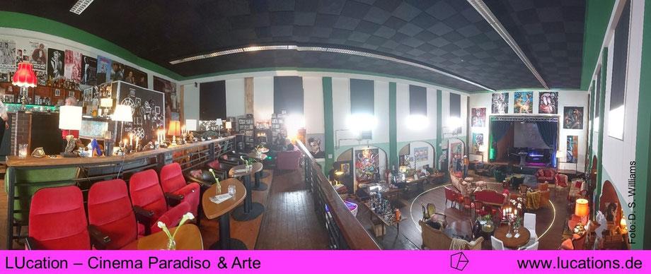 LUcation - Cinema Paradiso & Arte  | Foto: D. S. Williams | lucations.de