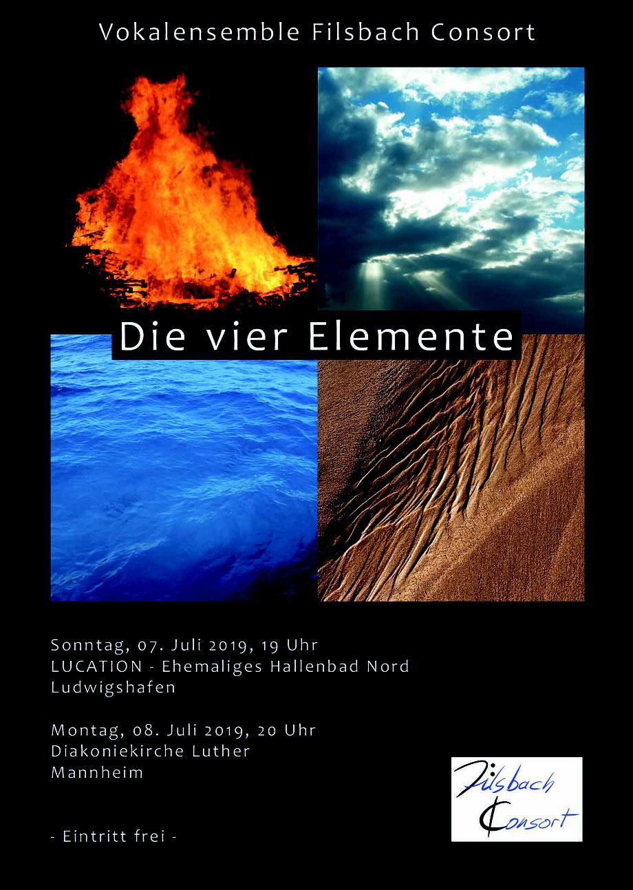 Filsbach Consort Gesangskonzert DIE VIER ELEMENTE_LUcation - Ehemaliges Hallenbad Nord