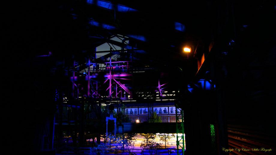 Clasen/Stiller Fotografie, Udo Clasen, Patrick Stiller, Nachtaufnahme, Landschaftspark Duisburg Nord, Langzeitbelichtung, Sonnenaufgang, grün, blau, orange, gold, gelb, Pflanzen, Baum, Bäume, HDR, Düsseldorf, Natur, Tiere, Wolken, Wassertropfen,