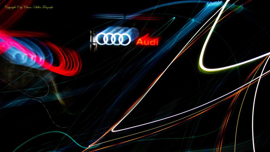 Autohaus Schnitzler Audi Hilden, Clasen Stiller Fotografie, Udo Clasen, Patrick Stiller, Audi, Abstrakte Fotos, Abstrakte Kunst, Abstrakte Fotokunst,