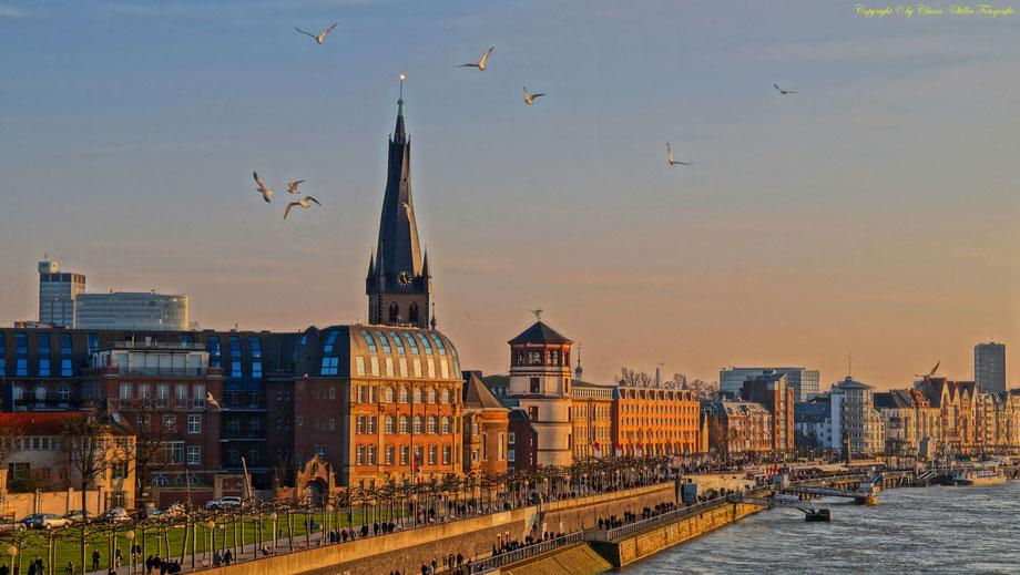 HDR, Landschaft, Städte, Skyline, Gemäldeoptik, NRW, Deutschland,