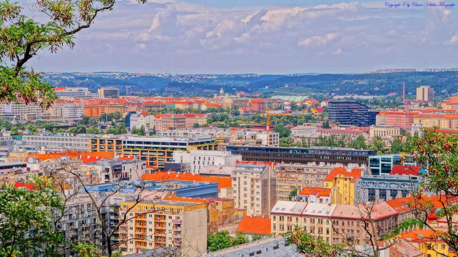 HDR, Landschaft, Städte, Skyline, Gemäldeoptik, NRW, Prag,