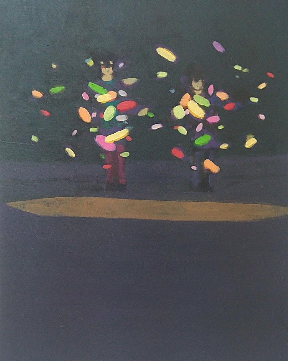 the colour of lights - Acryl auf Leinwand, 50x40cm, 2016