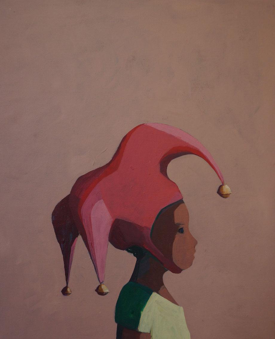 the joker - Acryl auf Leinwand, 60x50cm, 2015 | verkauft