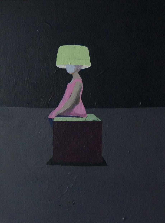 lamp shade - Acryl auf Leinwand, 40x30cm, 2015 | verkauft