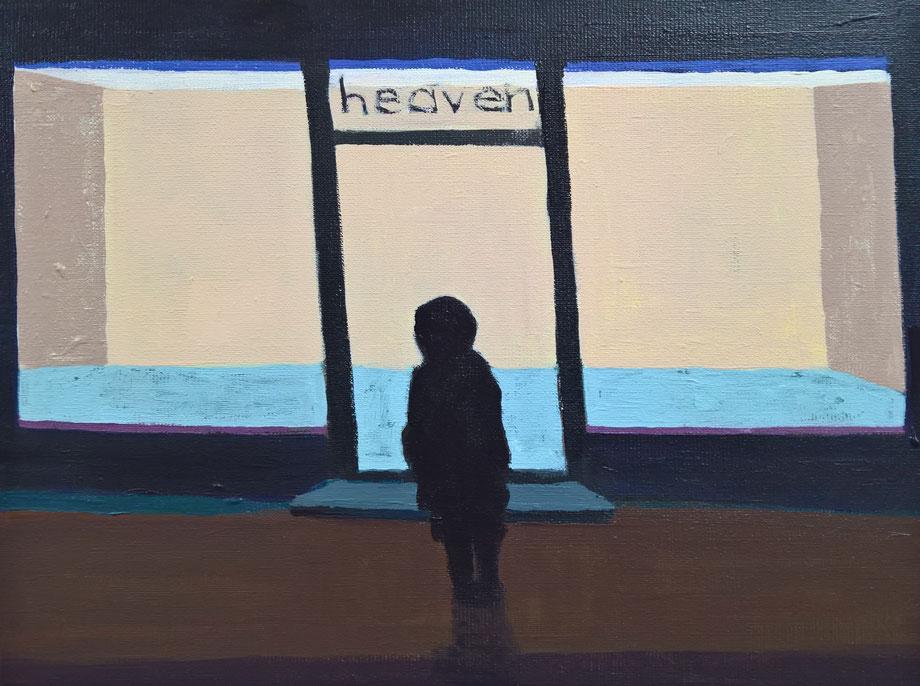 heaven - Acryl auf Leinwand, 30x40cm, 2017